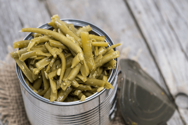 When is a can of green beans not ordinary?