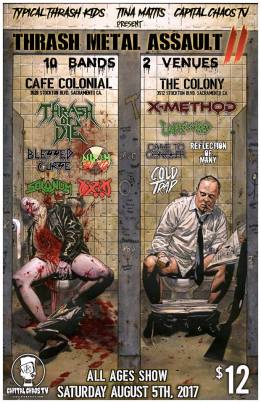 Thrash Metal Assault with Thrash Or Die and X Method