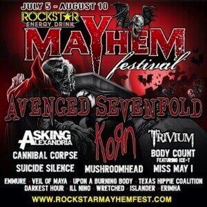 2014 Mayhem Festival