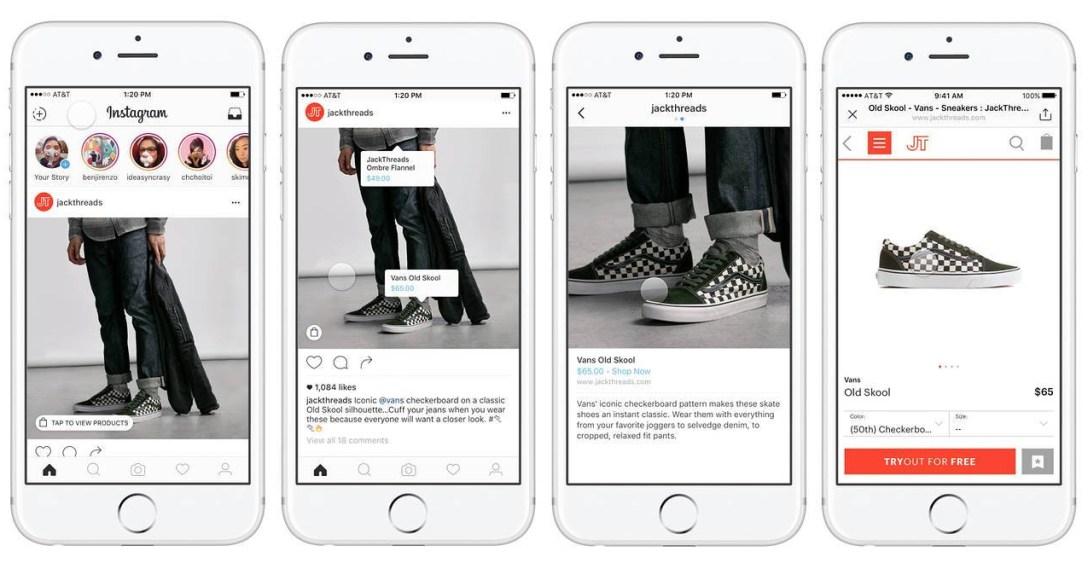 WSJ Instagram Shop Now