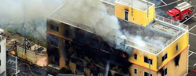 El estudio Kyoto Animation sufrió un ataque