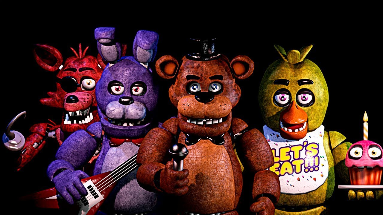 Five Nights At FreddyS 4 Spielen