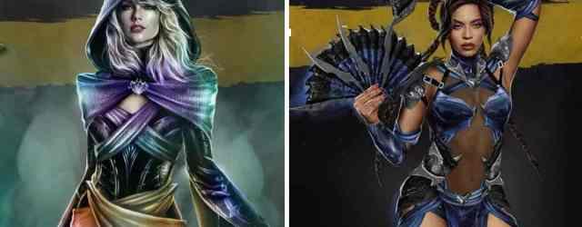 Cantantes famosas son convertidas en personajes de Mortal Kombat