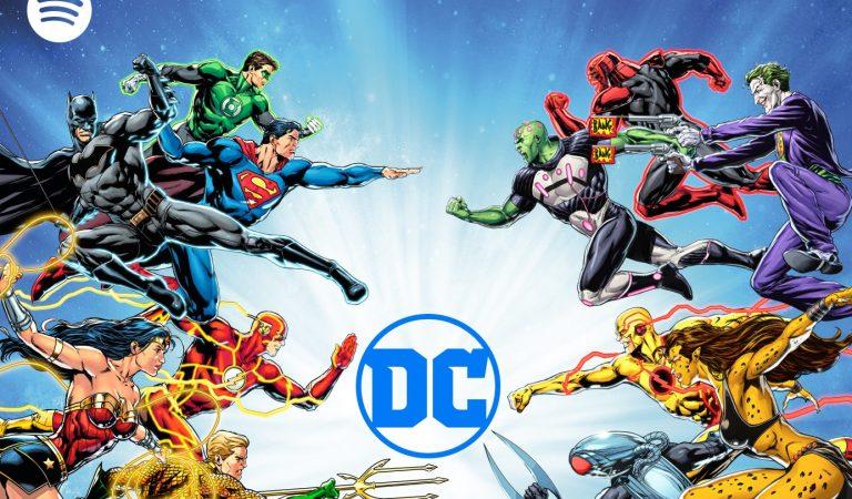 Spotify, Warner y DC se unen para producir podcasts de héroes y villanos