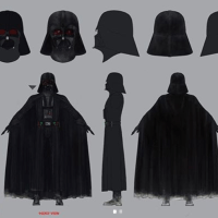 Checa el arte conceptual de Darth Vader en Star Wars: The Clone Wars