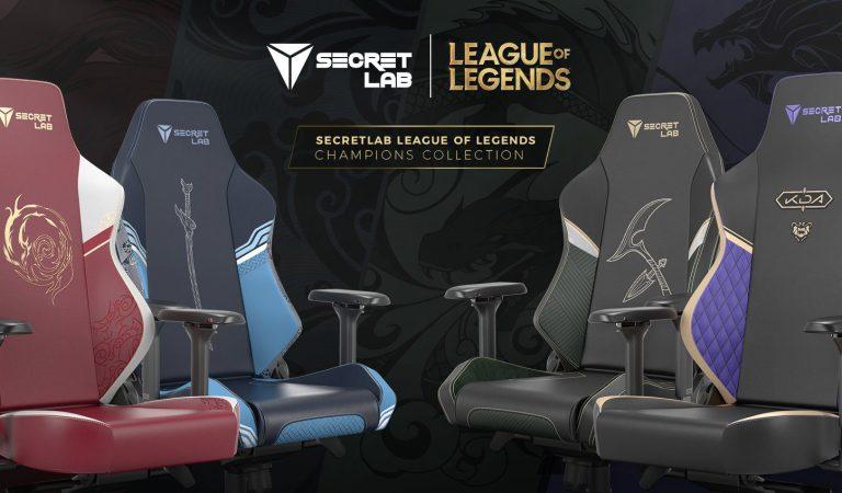 Checa las nuevas sillas gamer inspiradas en League of Legends