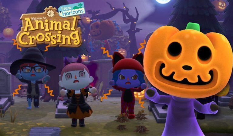 El Halloween llega a la isla de Animal Crossing: New Horizons