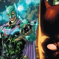 Joker se hace de un traje de Batman diseñado por él mismo