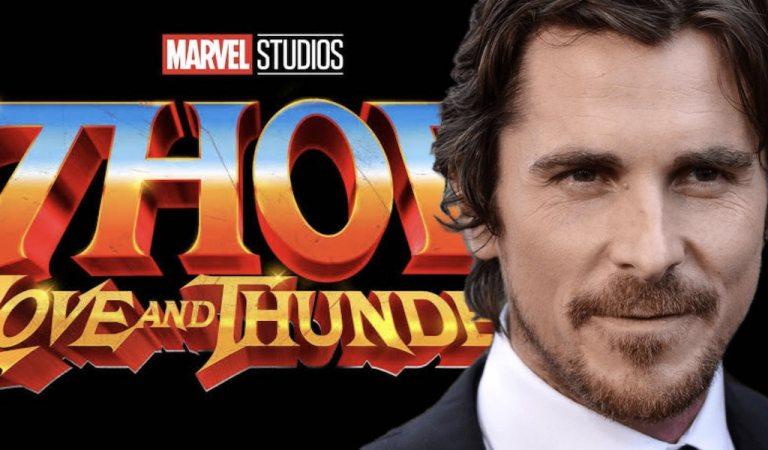 Christian Bale llega a Australia para Thor: Love and Thunder