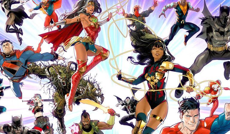 Estos son los comics que llegaran con DC Future State