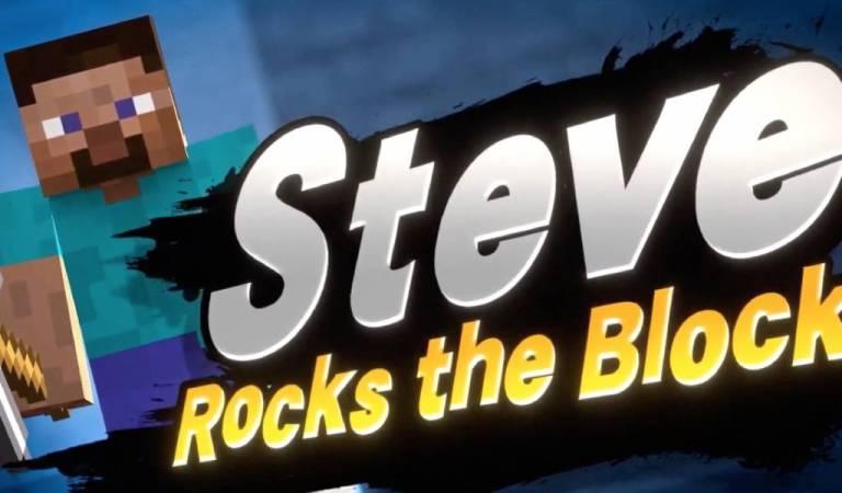 Steve de Minecraft llega a Super Smash Bros. Ultimate