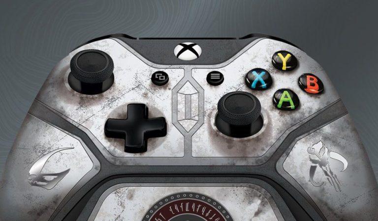 Xbox presenta mando con diseño de The Mandalorian