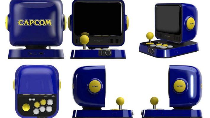 Capcom lanzara un mini arcade la próxima semana