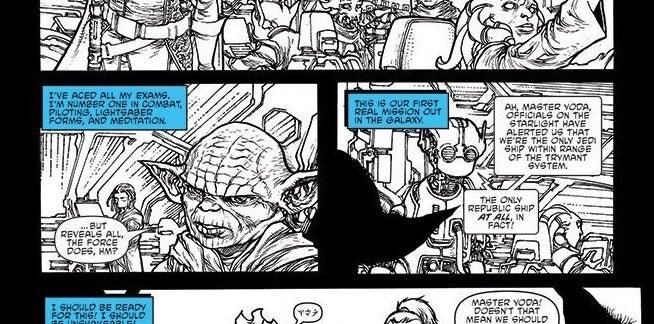 Revelan primer vistazo de Yoda en el próximo cómic de Star Wars