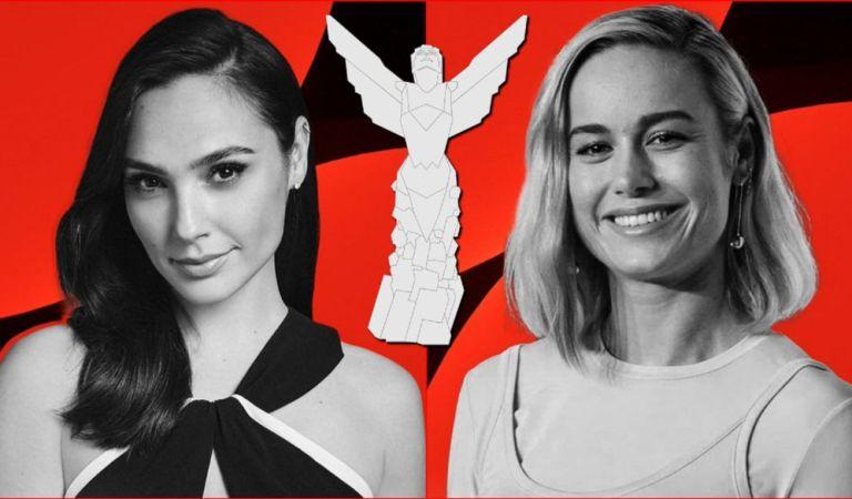 Brie Larson y Gal Gadot se unen a los The Game Awards