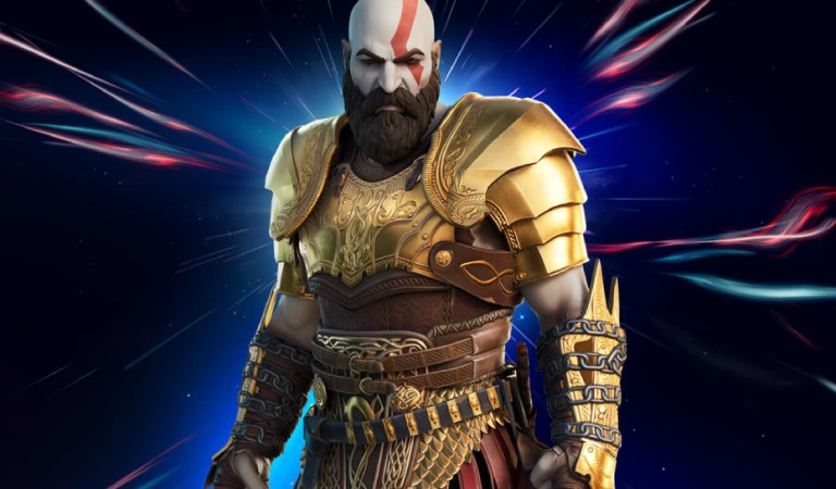 Ya esta disponible la skin de Kratos en Fortnite