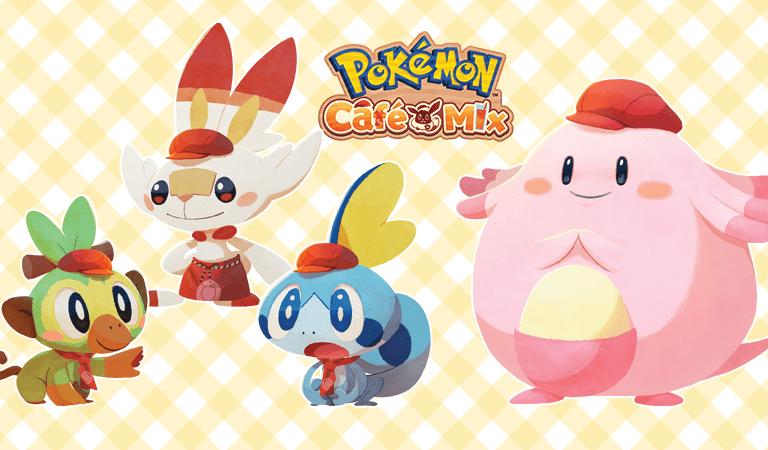 Pokémon Café Mix revela un nuevo evento de Chansey