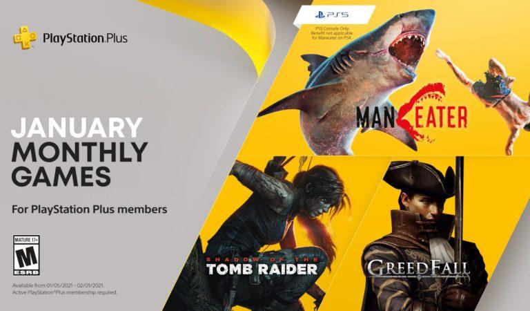 Conoce los juegos gratuitos en PS Plus en enero