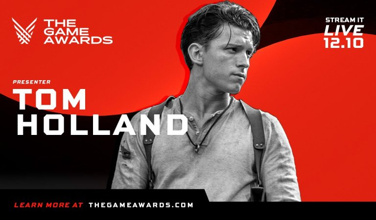Tom Holland confirma su presencia en The Game Awards 2020