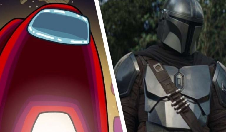 Fan crea skins de The Mandalorian para Among Us