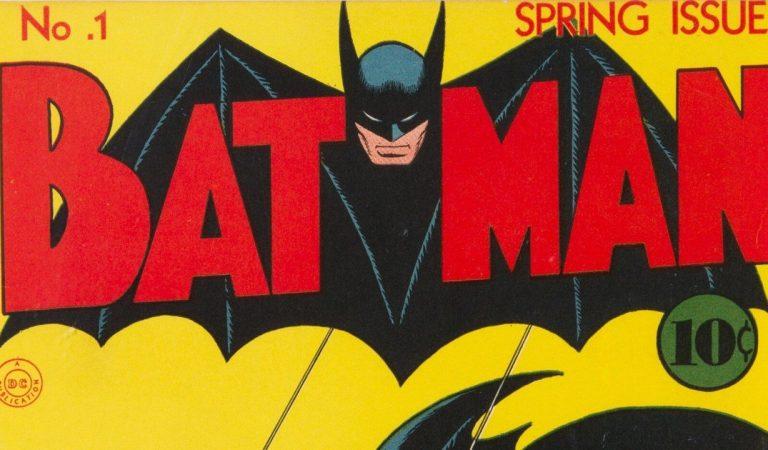 Subastan en 2 millones de USD el cómic de 'Batman #1'