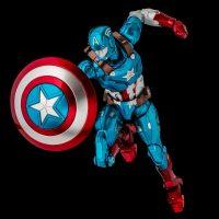 Así luce el Capitán América como Iron Man en esta nueva figura