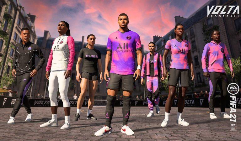 El nuevo uniforme del PSG ya está en FIFA 21