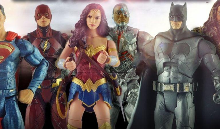 McFarlane Toys hará las figuras de Justice League Snyder's Cut