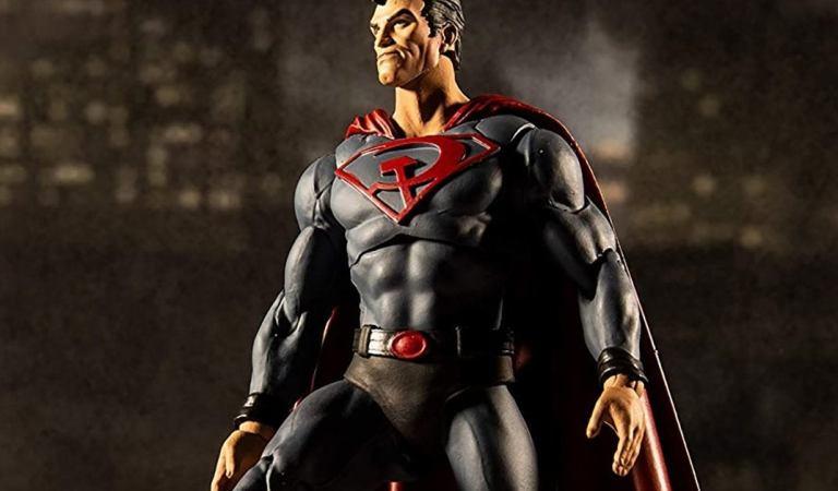 Mcfarlane Toys lanza figura de Superman: Red Son