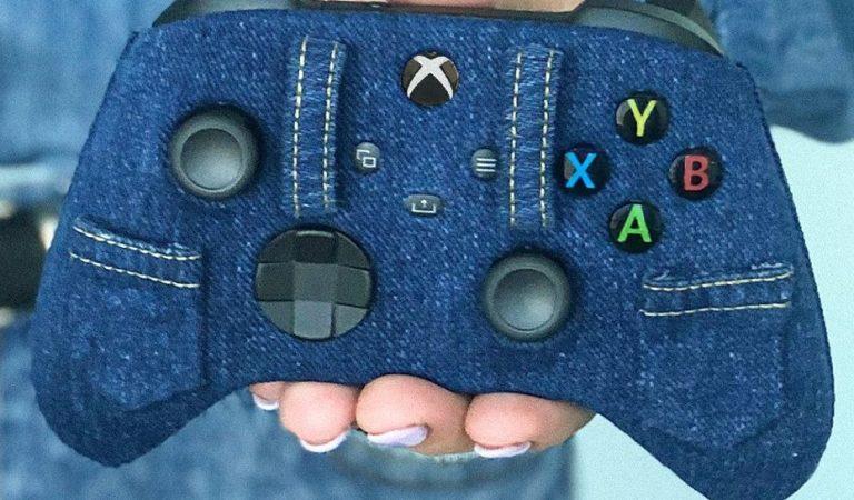 Xbox presenta su control inspirado en la mezclilla