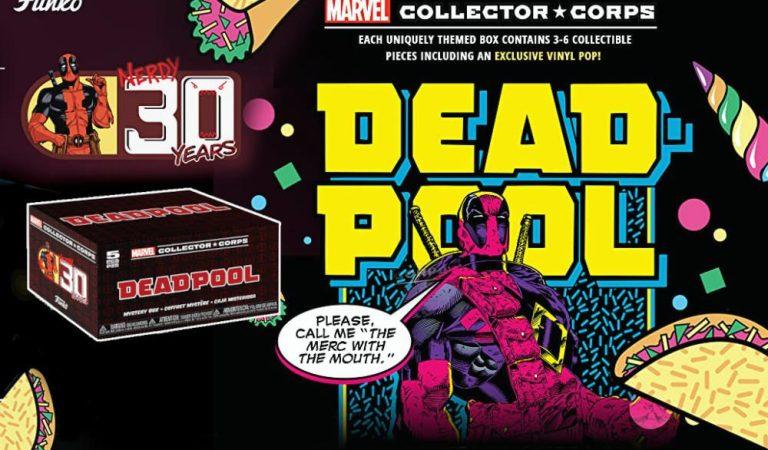 Funko celebra el aniversario de Deadpool con un Collector Corps Box