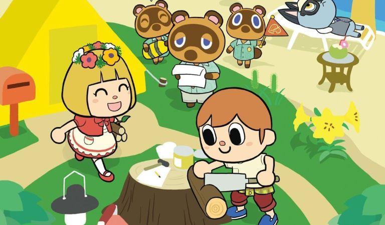 Anuncian manga de Animal Crossing: New Horizons
