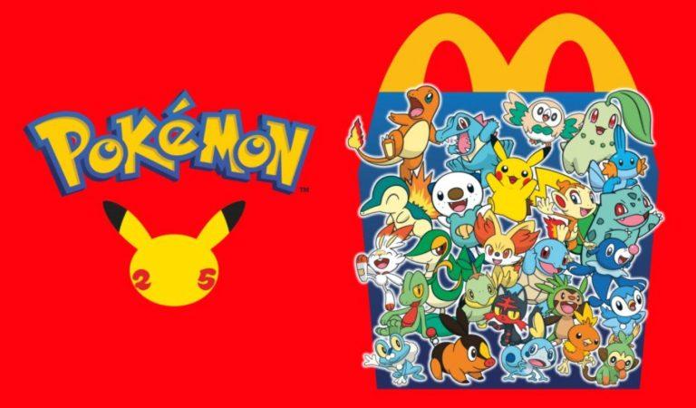 Fanáticos de Pokémon causan alborotos por las tarjetas de 'La Cajita Feliz' de McDonald's