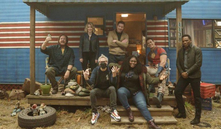 James Gunn publica nuevas imágenes de la serie de Peacemaker