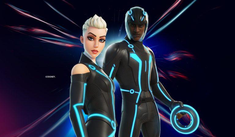 Los skins de Tron llegan a Fortnite