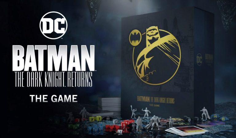 'Batman: The Dark Knight Returns – The Game' el juego de mesa creado por fans