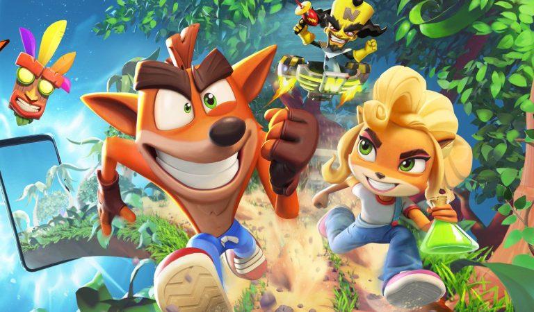'Crash Bandicoot: On the Run!' llego a las 8 millones de descargas el día de su lanzamiento
