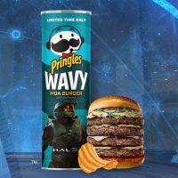 'Halo' se une a Pringles para lanzar un nuevo sabor