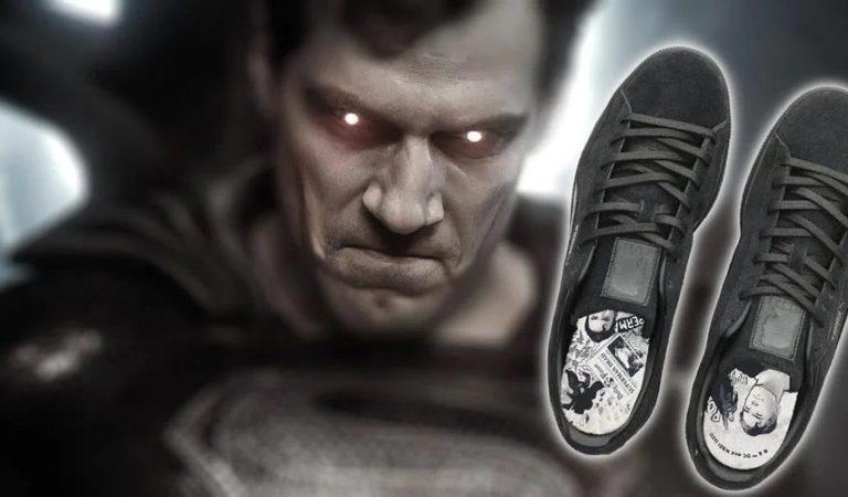 PUMA lanza sneakers basados en el traje negro de Superman en Zack Snyder's Justice League