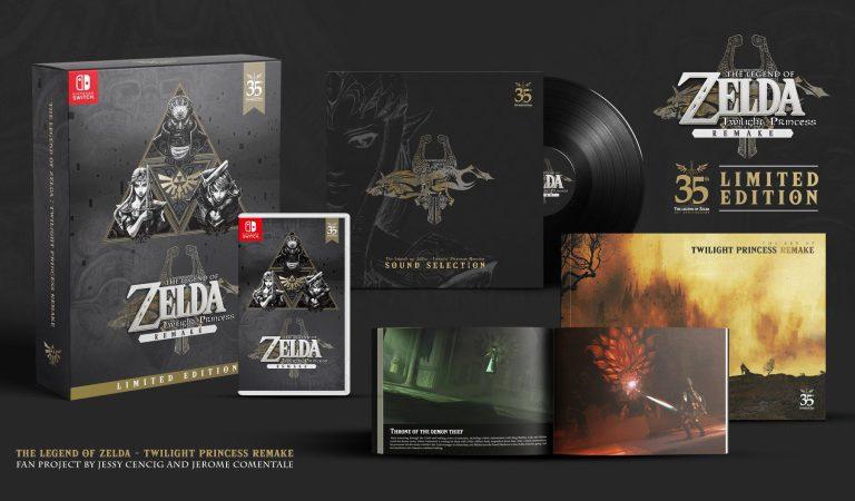 Fan crea la versión de colección de The Legend of Zelda: Twilight Princess