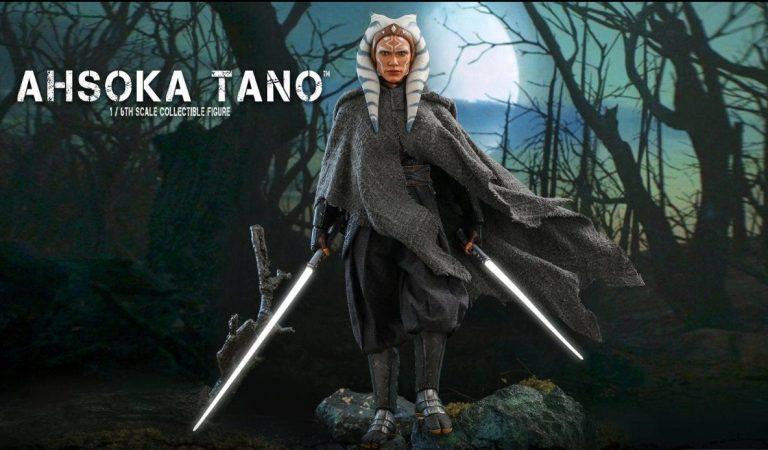 Hot Toys presenta su figura de Ahsoka Tano y Grogu de 'The Mandalorian'