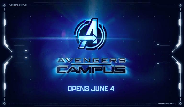 Avengers Campus abrirá sus puertas en junio