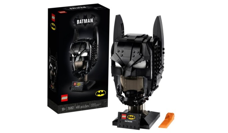 LEGO y DC presentan la máscara de Batman