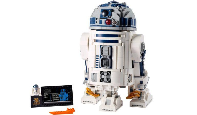 LEGO lanza una reedición de 'R2-D2' por el 50 aniversario de Lucasfilm
