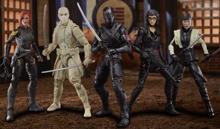 Hasbro presenta las primeras figuras de 'Snake Eyes: G.I. Joe Origins'