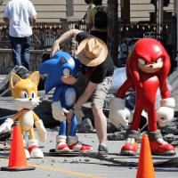Imágenes del set de 'Sonic The Hedgehog 2' revela a un amigo más de Sonic