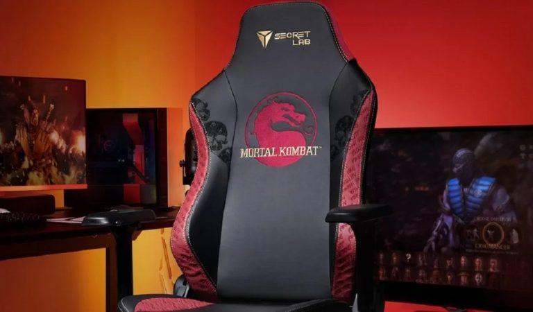 Secretlab lanza sillas gamer basadas en 'Mortal Kombat'