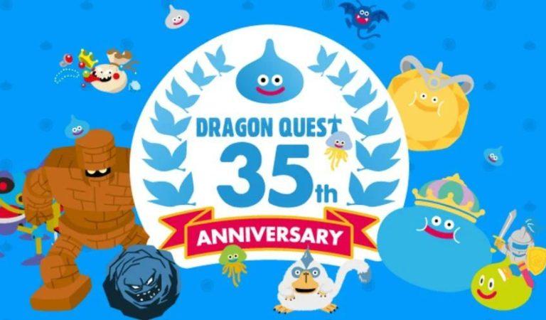 Estos son todos los anuncios del 35 aniversario de Dragon Quest