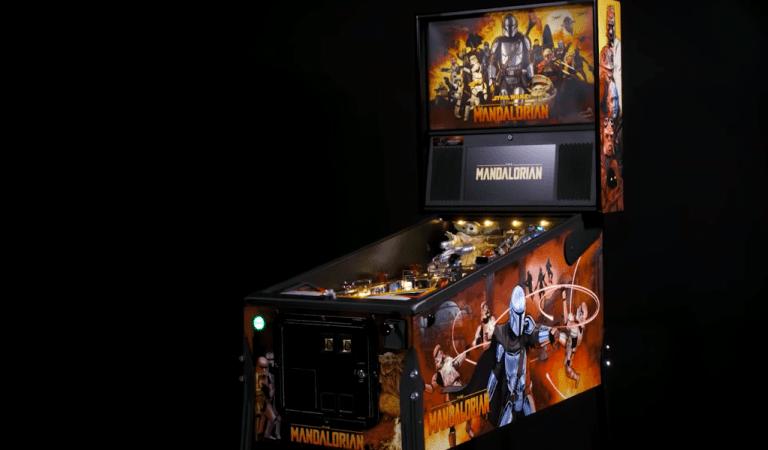 Lanzan máquinas de pinball de The Mandalorian