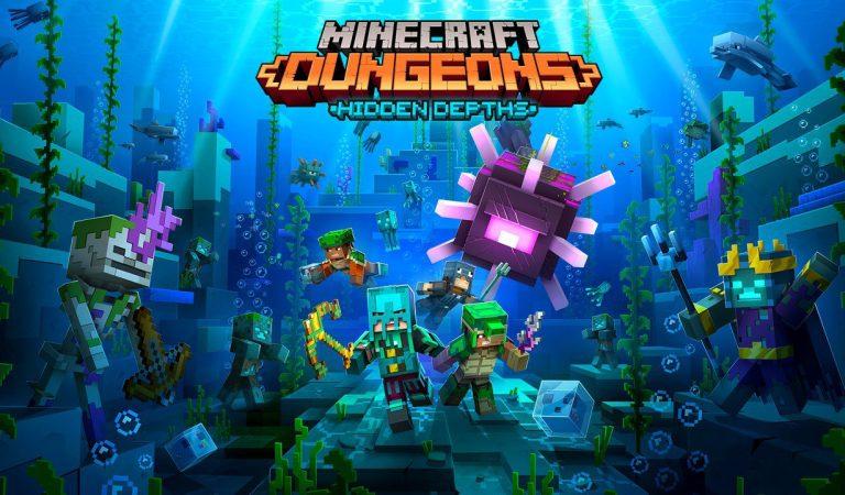 Un nuevo DLC llega a Minecraft Dungeons
